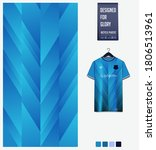 blue gradient geometry shape... | Shutterstock .eps vector #1806513961