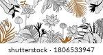 luxury golden art deco...   Shutterstock .eps vector #1806533947