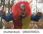 Halloween . Scary Aggressive...