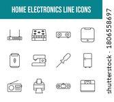 unique home electronics vector...   Shutterstock .eps vector #1806558697