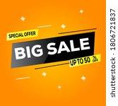 special offer final sale banner ...   Shutterstock .eps vector #1806721837