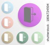 the exit badge color set....