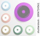 disc web badge color set....
