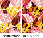 autumn cute hand drawn doodle... | Shutterstock .eps vector #1806724771