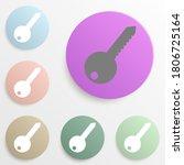 key badge color set. simple...