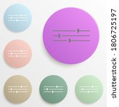 tune image sign badge color set....
