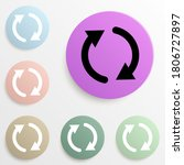 reboot sign badge color set....