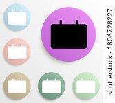 signboard badge color set....