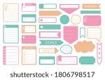to do sticker. vector to do... | Shutterstock .eps vector #1806798517
