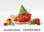 scene of sleigh full of... | Shutterstock . vector #1806814864