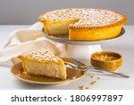 A Piece Of Custard Cream Cake...