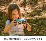 Small Caucasian Girl In A...