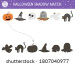 halloween shadow matching... | Shutterstock .eps vector #1807040977
