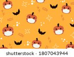 Halloween Orange Pattern...