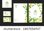 a set of business documents for ... | Shutterstock .eps vector #1807056937