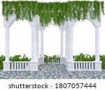 Arched Colonnade With A...