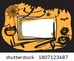 illustration of a fun halloween ... | Shutterstock .eps vector #1807123687