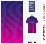 violet gradient geometry shape... | Shutterstock .eps vector #1807188664