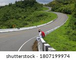curvy road number 3  road no... | Shutterstock . vector #1807199974