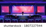 stage for event or conference... | Shutterstock .eps vector #1807227544