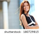 portrait of a successful... | Shutterstock . vector #180729815