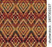 native american style fabric...   Shutterstock .eps vector #1807303237