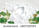 3d Illustration  White...