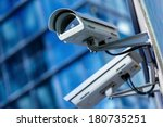 security camera and urban video | Shutterstock . vector #180735251