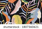 luxury golden art deco... | Shutterstock .eps vector #1807360621