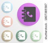 notebook badge color set....