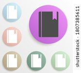 bookmark in a book badge color...