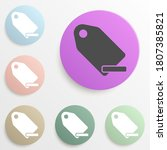 minus tag badge color set....