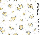 floral pattern. pretty flowers... | Shutterstock .eps vector #1807388167