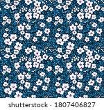 floral pattern. pretty flowers... | Shutterstock .eps vector #1807406827