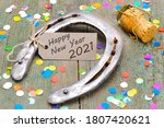 Horse Shoe With Greetings For...