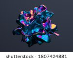 Abstract 3d Render  Colorful...