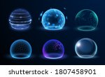 different energy protection... | Shutterstock .eps vector #1807458901