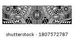 polynesian tattoo pattern maori ... | Shutterstock .eps vector #1807572787