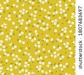 cute flower pattern in a small... | Shutterstock .eps vector #1807683697