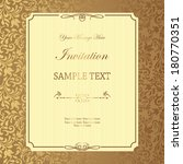 vintage background  antique... | Shutterstock .eps vector #180770351