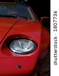 a view of the headlight and...   Shutterstock . vector #1807736