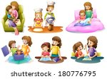 illustration of the different... | Shutterstock .eps vector #180776795