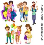 illustration of the different... | Shutterstock .eps vector #180776849