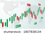 stock forex trading exchange of ... | Shutterstock .eps vector #1807838134