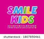 vector modern concept smile... | Shutterstock .eps vector #1807850461
