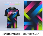 fabric textile for sport t... | Shutterstock .eps vector #1807895614