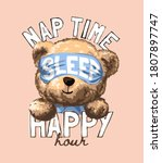 Nap Time Happy Hour Slogan With ...