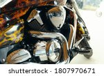 Chrome Plated Motorcycle Engine ...