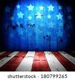Usa Style Background   Empty...