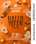 Happy Halloween Party Poster....
